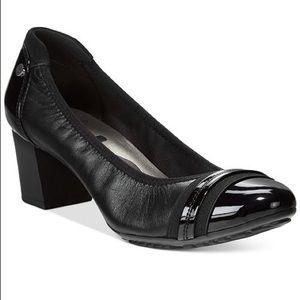 ANNE KLEIN Sport Black Pump Heel NWOB
